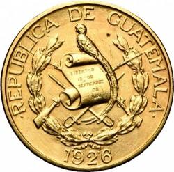 מטבע > 5קצאל, 1926 - גוואטמלה  - obverse