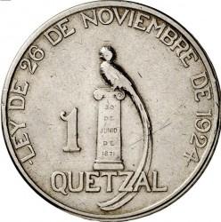 Moneda > 1quetzal, 1925 - Guatemala  - reverse