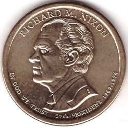Moneta > 1 doleris, 2016 - JAV  (President of the USA - Richard M. Nixon (1969–1974)) - obverse