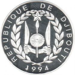 Moneta > 100franchi, 1994 - Gibuti  (1994 World Football Cup USA) - obverse