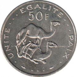 Coin > 50francs, 1977-2017 - Djibouti  - reverse