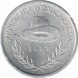 Moeda > 10centavos, 1987 - Nicarágua  - reverse