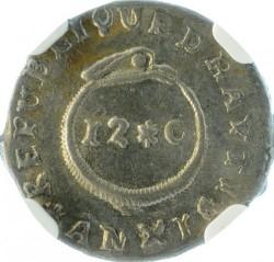 Монета > 12сантима, 1813-1815 - Хаити  - reverse