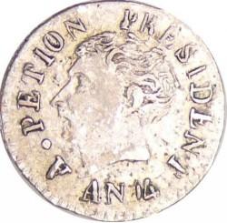 Moneta > 12centymów, 1817 - Haiti  - obverse
