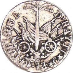 Moneta > 12centymów, 1817 - Haiti  - reverse