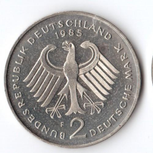 2 Mark 1985 Konrad Adenauer Deutschland Münzen Wert Ucoinnet