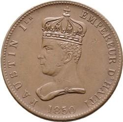 Νόμισμα > 6¼Σεντίμς, 1850 - Αιτή  - obverse
