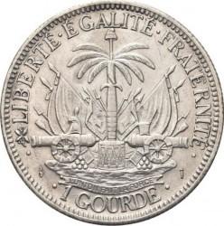 Монета > 1гурд, 1881-1895 - Хаити  - reverse