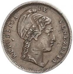 Münze > ¼Centavo, 1843-1852 - Venezuela  - obverse