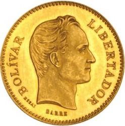 Moneta > 5venezolanos, 1875 - Wenezuela  - reverse