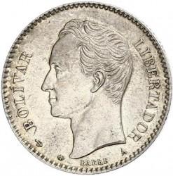 Moeda > 20centavos, 1874-1876 - Venezuela  - reverse