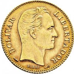 Coin > 20bolívares, 1879-1912 - Venezuela  - reverse