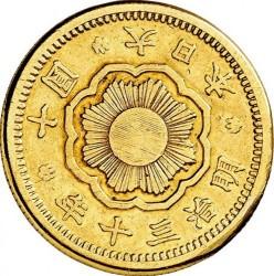 Monēta > 10jenu, 1897-1909 - Japāna  - obverse