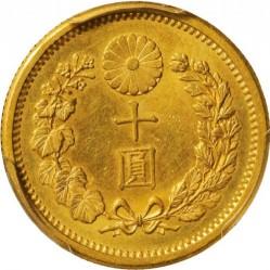 Монета > 10йен, 1897-1909 - Япония  - reverse