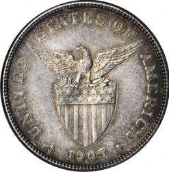 Monēta > 50sentavo, 1903-1906 - Filipīnas  - obverse