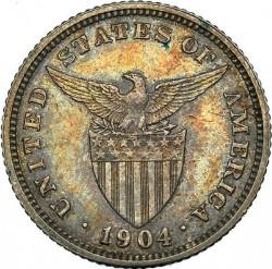 Monēta > 20sentavo, 1903-1906 - Filipīnas  - obverse