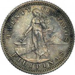 Monēta > 20sentavo, 1903-1906 - Filipīnas  - reverse