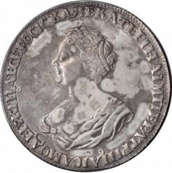 Münze > 1Rubel, 1725 - Russland  (Kleines Portrait) - obverse