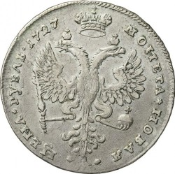 Монета > 1рубль, 1726-1727 - Росія  - reverse