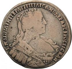 Münze > 1Poltina, 1731-1733 - Russland  - obverse