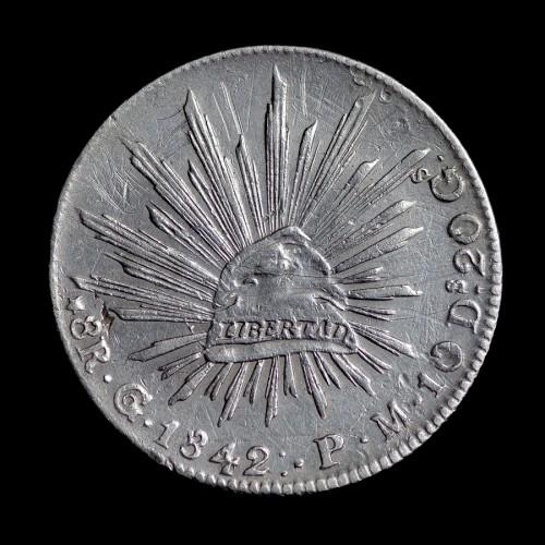 8 Reales 1842 Mexiko Münzen Wert Ucoinnet