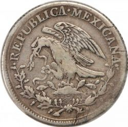 Moneda > 8reales, 1823-1825 - Mèxic  - obverse