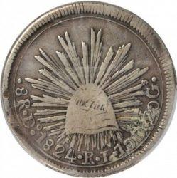 Moneda > 8reales, 1823-1825 - Mèxic  - reverse