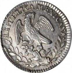 Νόμισμα > 1Ρεάλ, 1825-1869 - Μεξικό  - obverse