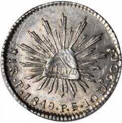 Монета > 1реал, 1825-1869 - Мексика  - reverse