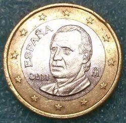 Münze > 1Euro, 2010-2014 - Spanien  - obverse