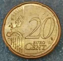 Монета > 20евроцента, 2007-2009 - Испания  - reverse