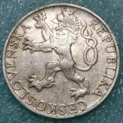 Moneta > 50corone, 1948 - Cecoslovacchia  (3° anniversario dell'insurrezione di Praga) - obverse