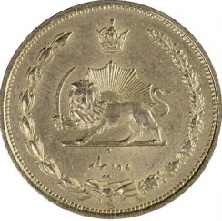 Moneda > 10dinars, 1931 - Iran  - obverse