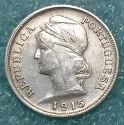 Монета > 10сентавос, 1915 - Португалия  - obverse