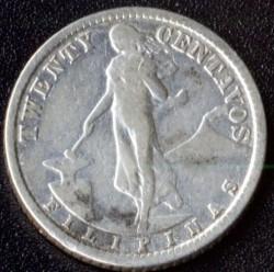 錢幣 > 20分, 1907-1929 - 菲律賓  - reverse