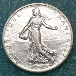 سکه > 1فرانک, 1918 - فرانسه  - obverse