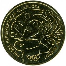 Moneda > 2zlote, 2012 - Polonia  (XXX Juegos olímpicos de verano, Londres 2012) - obverse