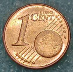 Moneda > 1céntimo, 2007-2019 - Eslovenia  - reverse