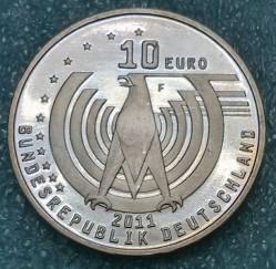 Monēta > 10eiro, 2011 - Vācija  (125th Anniversary of the Automobile) - obverse