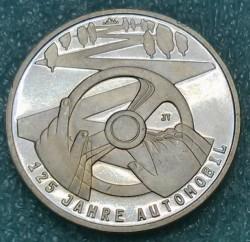 Monēta > 10eiro, 2011 - Vācija  (125th Anniversary of the Automobile) - reverse