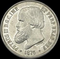 Mynt > 2000reis, 1875-1876 - Brasilien  - obverse