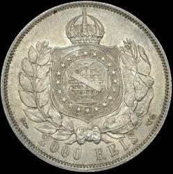 Mynt > 2000reis, 1875-1876 - Brasilien  - reverse
