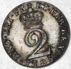 Moneda > 2peniques, 1795-1800 - Reino Unido  - reverse