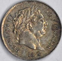 Moneda > 3peniques, 1817-1820 - Reino Unido  - obverse