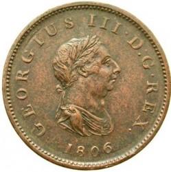 Monēta > ½pens, 1806-1807 - Lielbritānija  - obverse