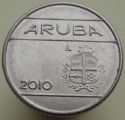 Moneta > 10centų, 2010 - Aruba  - obverse