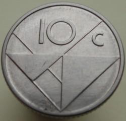 Moneta > 10centų, 2010 - Aruba  - reverse