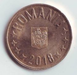 Coin > 50bani, 2018 - Romania  - reverse