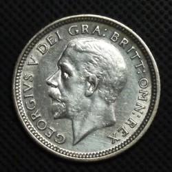 العملة > 6بنس, 1927 - المملكة المتحدة  - obverse