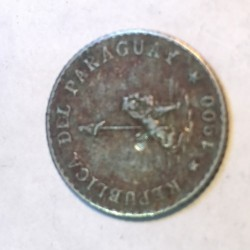 Moneda > 5centavos, 1900-1903 - Paraguay  - reverse